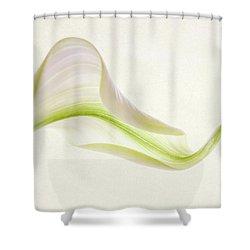 Calla Curves Shower Curtain
