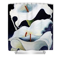 Calla Lilies.. Shower Curtain