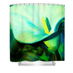 Calla Lily Shower Curtain