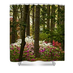Callaway Gardens Spring Azaleas Shower Curtain