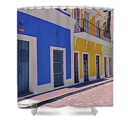 Calle Del Sol Shower Curtain