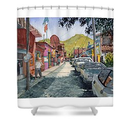 Calle Turistica Mx Shower Curtain