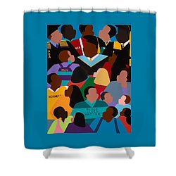 Called To Serve Inspiring Change Shower Curtain