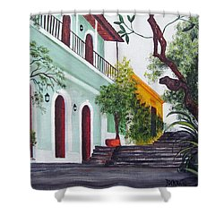 Callejon Del Hospital Shower Curtain