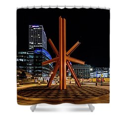 Calling After Sundown Shower Curtain by Randy Scherkenbach