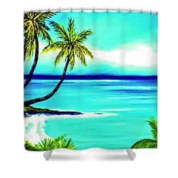 Calm Bay #53 Shower Curtain by Donald k Hall