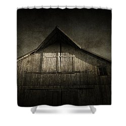 Shower Curtain featuring the photograph Old Barn by Cynthia Lassiter
