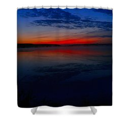 Calm Of Early Morn Shower Curtain
