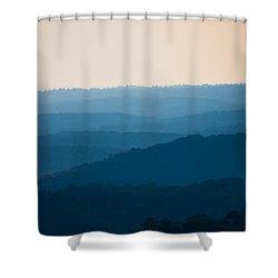 Calm Over The Hoyle Shower Curtain