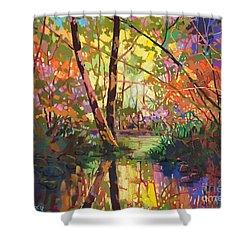 Calm Reflection II Shower Curtain