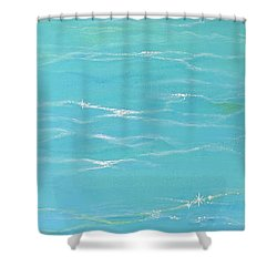 Calm Reflections Shower Curtain