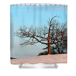 Calming Moments Shower Curtain