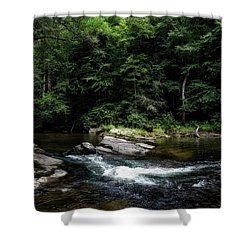 Calming Rapids Shower Curtain