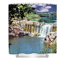 Calming Shower Curtain