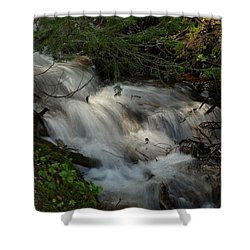 Shower Curtain featuring the photograph Calming Stream by DeeLon Merritt