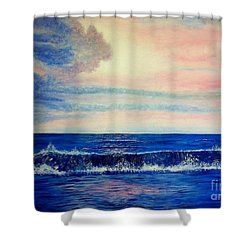 Calming Wave Shower Curtain