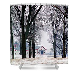 Calumet Winter Shower Curtain
