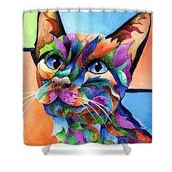 Calypso Shower Curtain by Sherry Shipley