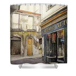 Calzados Victoria-leon Shower Curtain by Tomas Castano