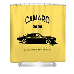 Shower Curtain featuring the photograph Camaro Ss V.2 by Kim Gauge