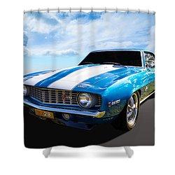 Camaro Z28 Shower Curtain