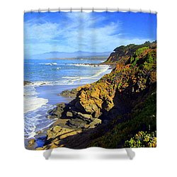 Cambria By The Sea Shower Curtain