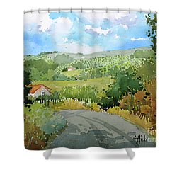 Cambria Countryside Shower Curtain