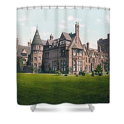 Cambridge - England - Girton College Shower Curtain