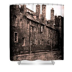 Cambridge, England Shower Curtain