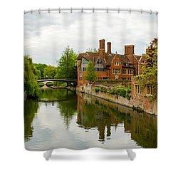 Cambridge Serenity Shower Curtain