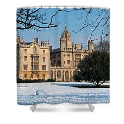 Cambridge Snowscape Shower Curtain