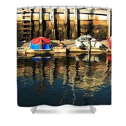 Camden Boats Shower Curtain