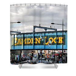 Camden Lock Shower Curtain