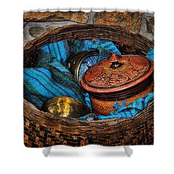 Shower Curtain featuring the photograph Camelback 8847 by Sylvia Thornton