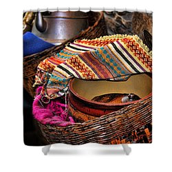 Shower Curtain featuring the photograph Camelback 8849 by Sylvia Thornton