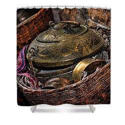 Shower Curtain featuring the photograph Camelback 8850 by Sylvia Thornton