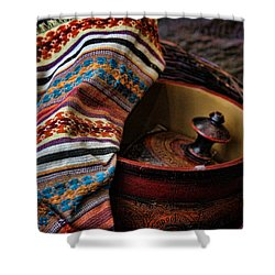 Shower Curtain featuring the photograph Camelback 8851 by Sylvia Thornton