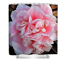 Camellia Flower Shower Curtain by Susanne Van Hulst