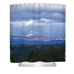 Camel's Hump Mountain  Shower Curtain by Diane Diederich