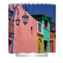 Caminito Shower Curtain by Bernardo Galmarini