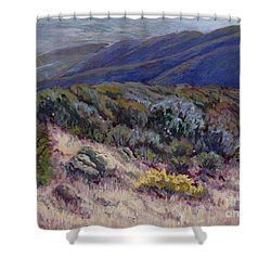 Camino Cielo View Shower Curtain