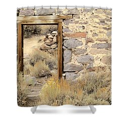 Doorway To Nowhere Shower Curtain