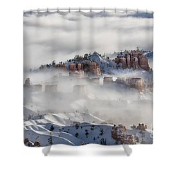 Shower Curtain featuring the photograph Camouflage - Bryce Canyon, Utah by Sandra Bronstein