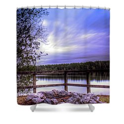 Camp Ground Shower Curtain