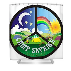 Camp Skyhigh Shower Curtain