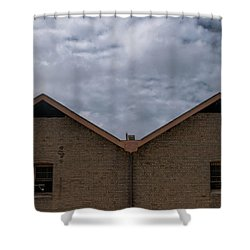 Campbell's Storehouses Shower Curtain