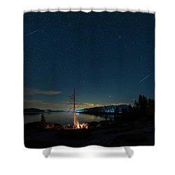 Campfire 1 Shower Curtain