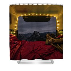 Camping Views Shower Curtain