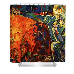 Campino Shower Curtain by Koro Arandia