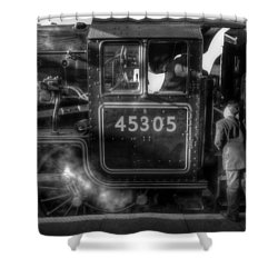 Can I Go For A Ride  Shower Curtain